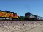 BNSF 4862 East, CDTX 2051 West
